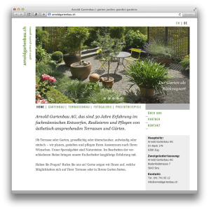 Arnold-Gartenbau-Website-Screenshot-1